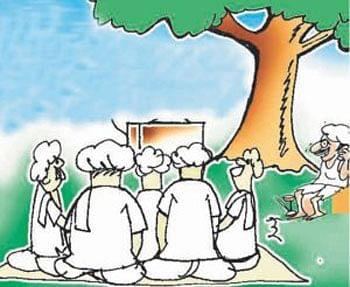 पारावरच्या गप्पा : शेतकरी, पीकविमा अन अधिकारी