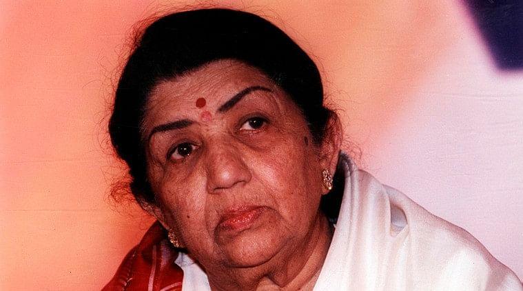 Playback singer Lata Mangeshkar. Express archive photo