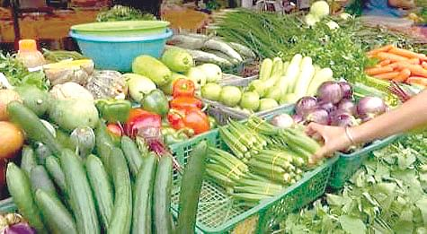 Vegetable prices decline