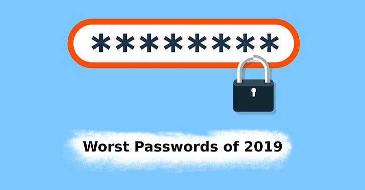 सावधान! 'हे' पासवर्ड वापराल तर? २०१९ मधील सर्वात वीक पासवर्ड्स