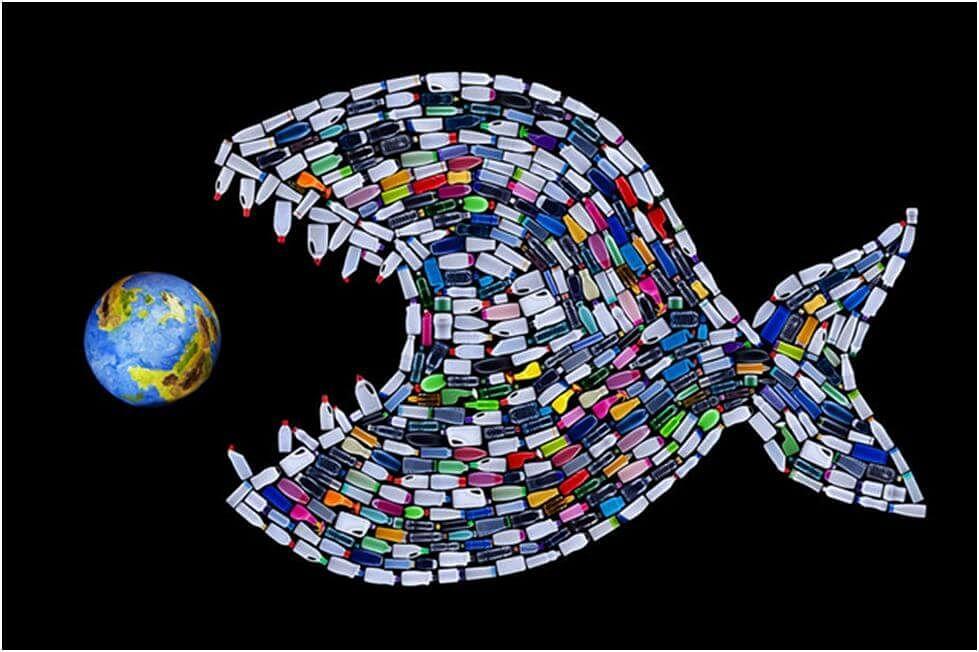 गंगापूररोड : प्लास्टिक मासा देतोय दुष्परिणामांचा संदेश