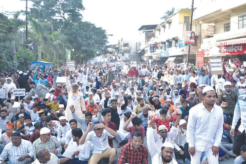 'नागरिकत्व' विरुध्द रविवारी नाशिकमध्ये मुस्लिमांचा एल्गार