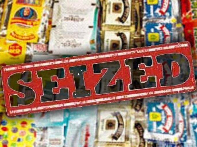 Gutkha worth Rs 3.60 lakh seized