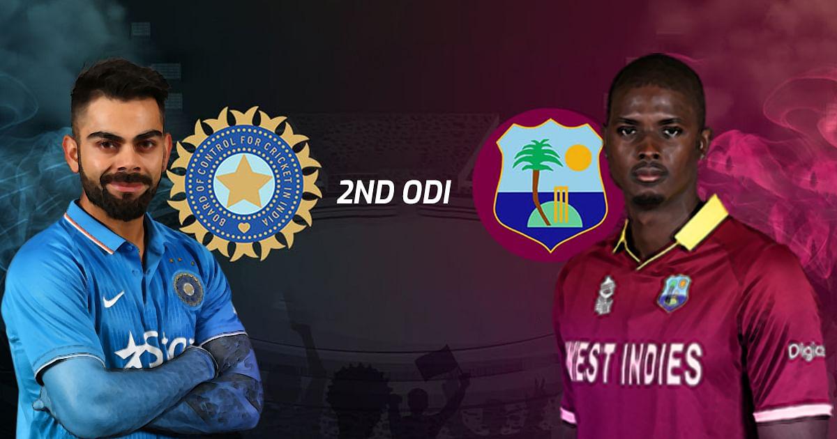 भारत -वेस्ट इंडीज दुसरा सामना आज; भारताची बॅटिंग