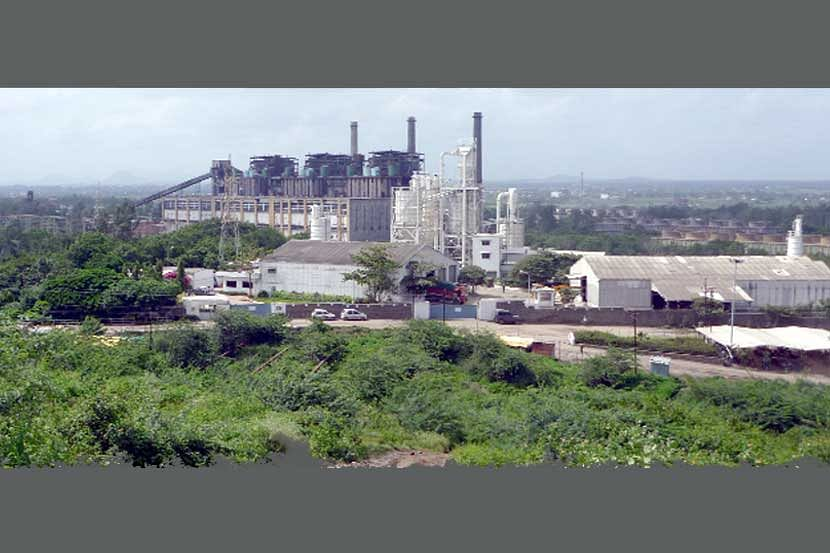 Eklahare power plant unit under 'overall'