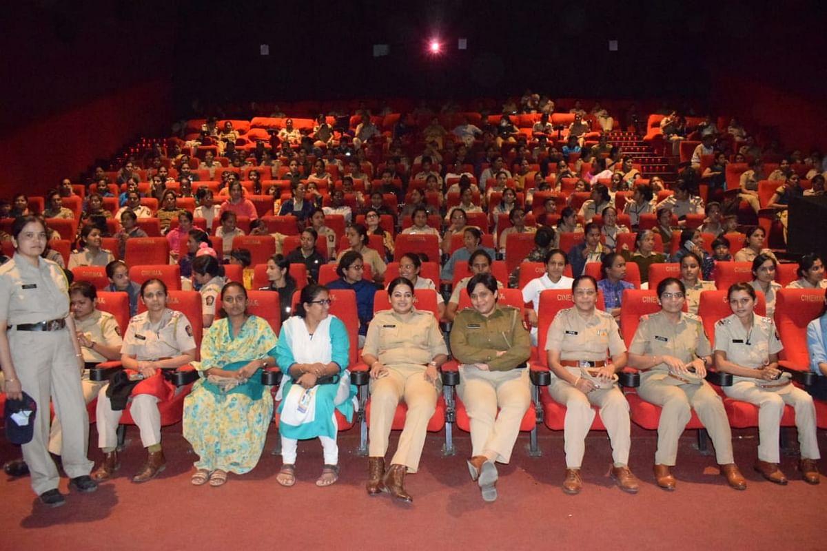 नाशिक महिला पोलिसांनी अनुभवला 'मर्दानी-२'