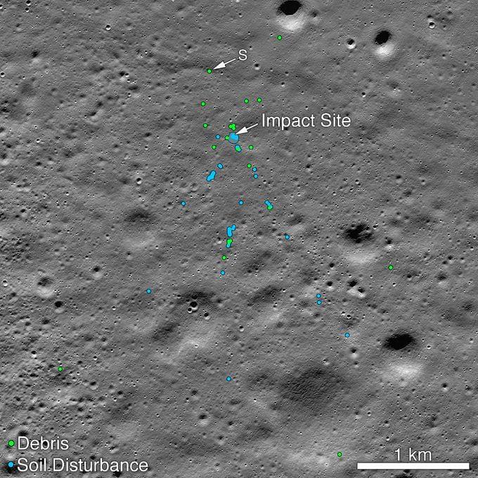 'चांद्रयान-२' च्या विक्रम लँडरला शोधण्यात यश