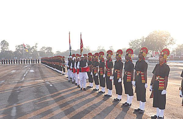 248 जवानांनी घेतली देशसेवेची शपथ