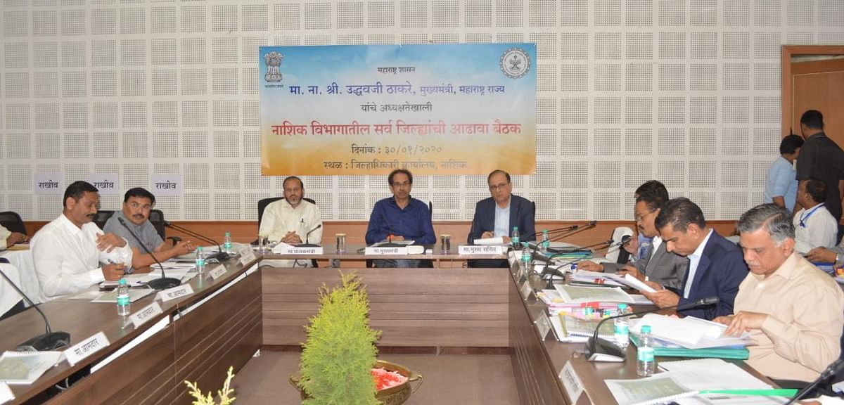 209 officials of five districts present before CM