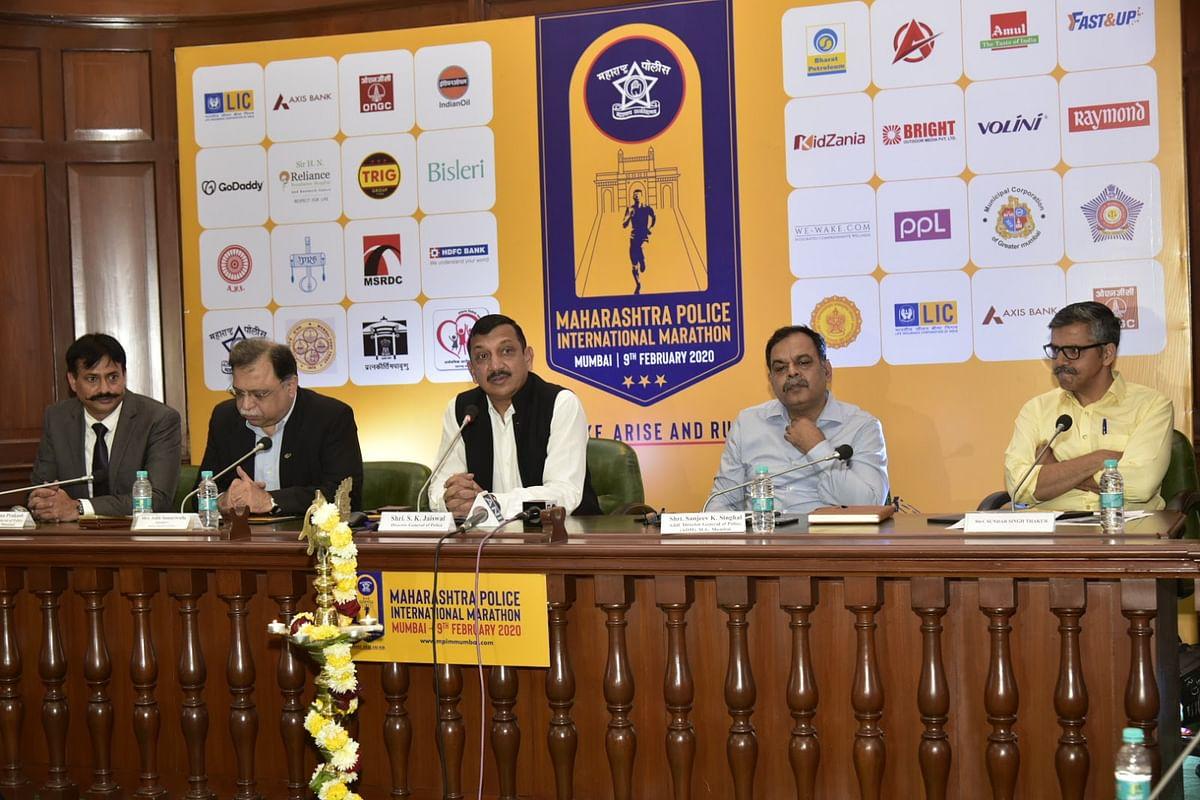 मॅरेथॉनद्वारे'फिट इंडिया मुव्हमेंट'ला चालना – पोलीस महासंचालक सुबोध जयस्वाल