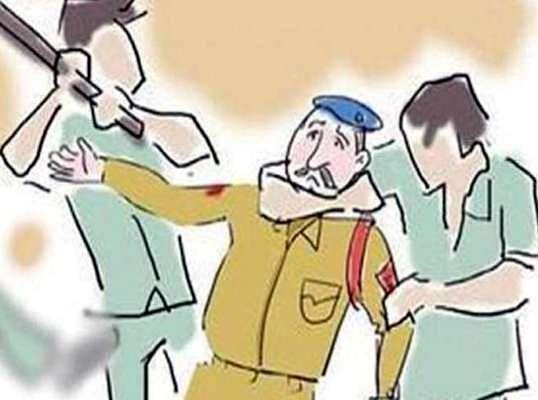 मद्यधुंद अवस्थेत सैनिकांची पोलिस कर्मचाऱ्यास मारहाण; शालिमार येथील घटना