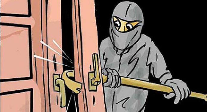 गंगापूर रोड : पोलीस आयुक्त कार्यालयाजवळच ५१ लाखांची धाडसी चोरी