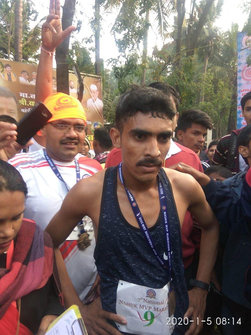 राजस्थानचा सुनील नील कुमार ठरला मविप्र मॅरेथॉनचा विजेता