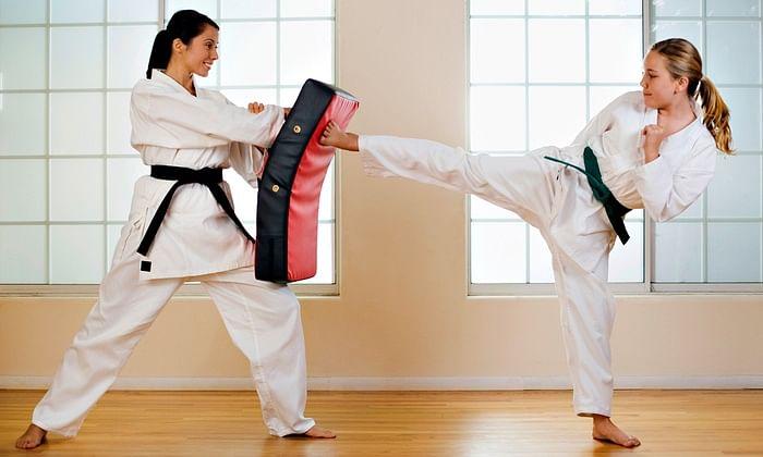 6666 girls, women take free judo, karate training