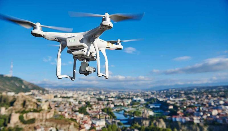 शहरावर आता ड्रोन कॅमेर्याची नजर
