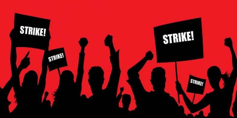 Nationwide strike today