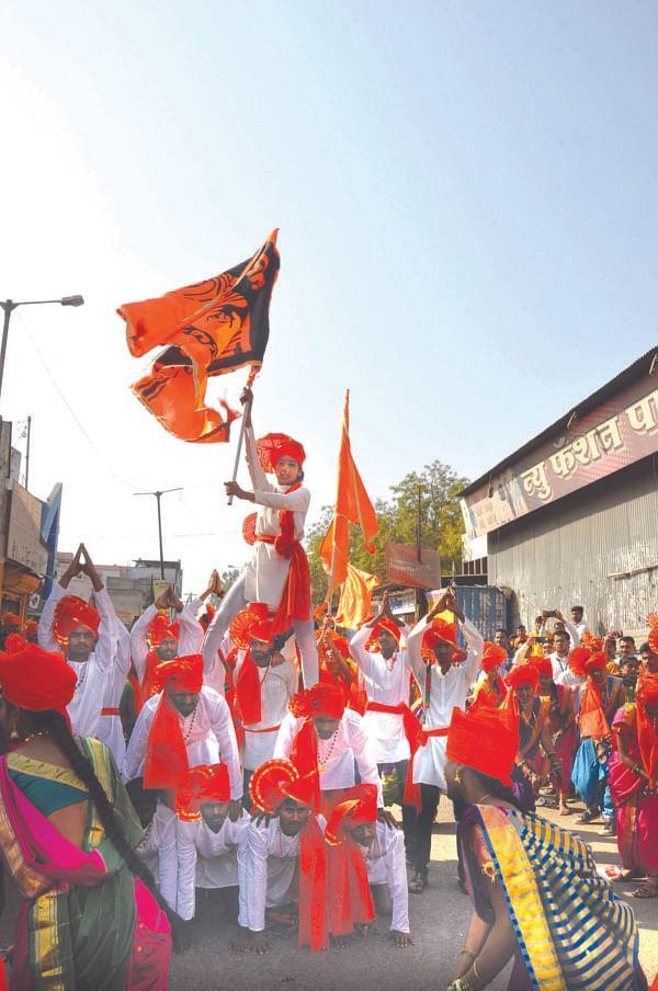 Video# : ऐतिहासिक अहमदनगरमध्ये शिवजयंती उत्साहात