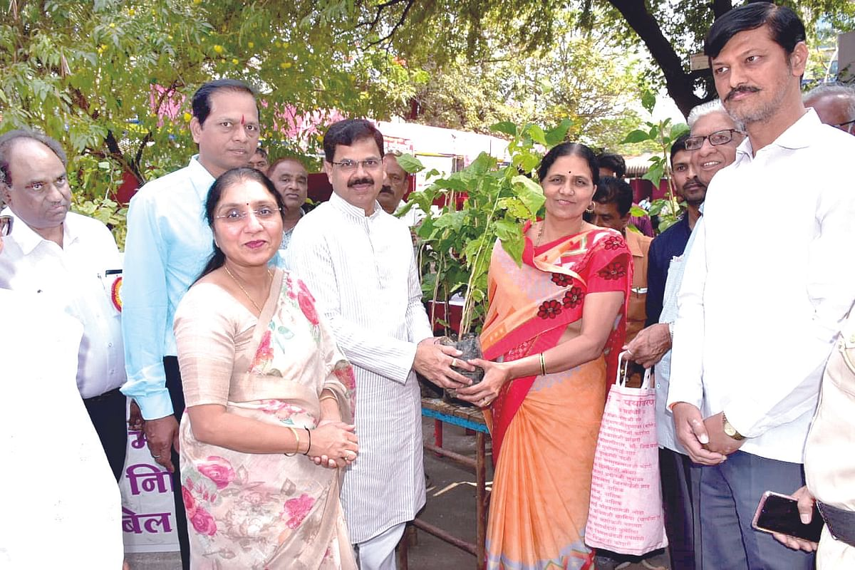 3000 Bael tree saplings distributed: NMC conducts Bael festival