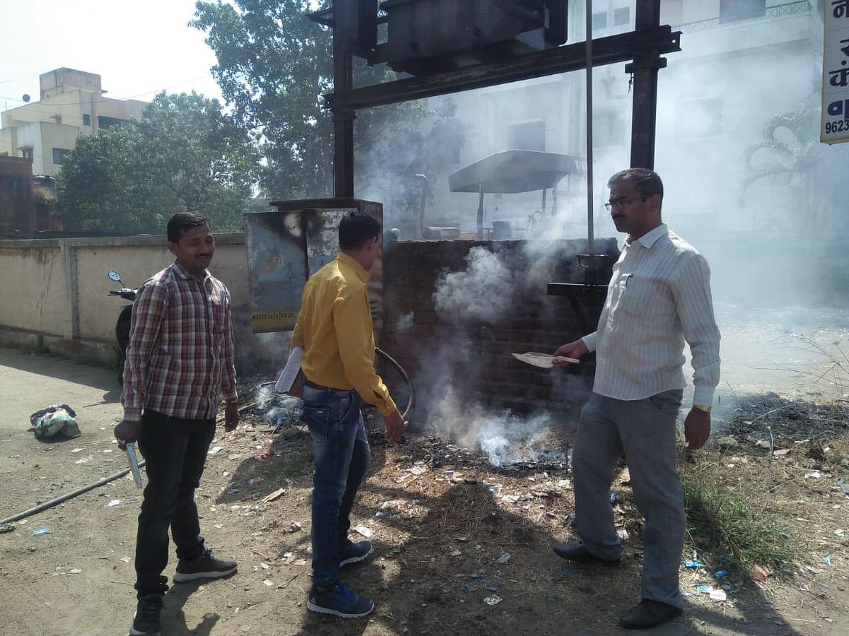 कौतुकास्पद : गुन्हे शोध पथकाने जीवाची पर्वा न करता विझवली रोहित्रास लागलेली आग