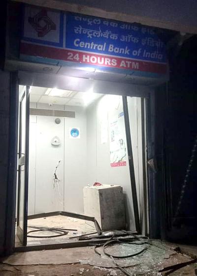 धुळे : शिरूड येथील सेंट्रल बँकेचे एटीएम मशीन गायब ; बारा लाख रुपये लांबविले