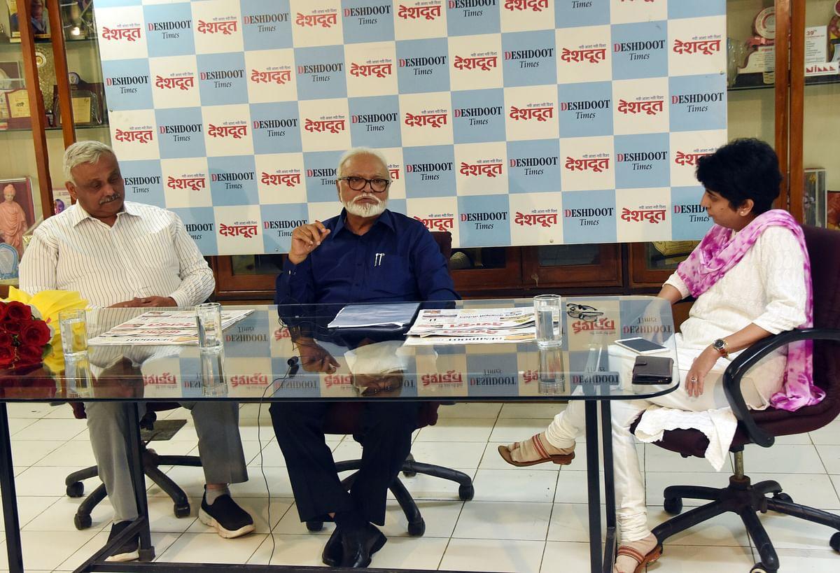 Video : Bhujbal lauds Civic Sense campaign by Deshdoot