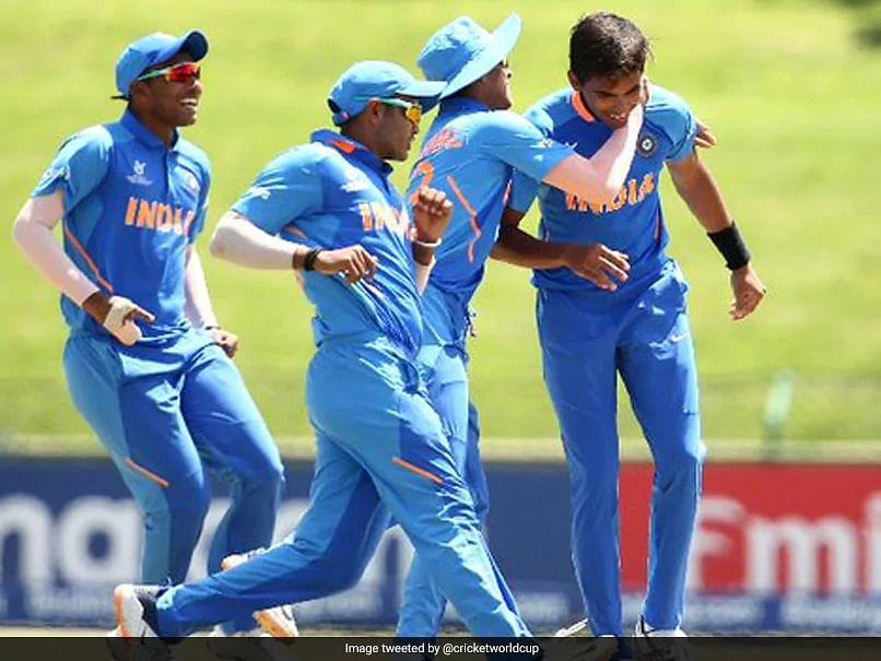 अंडर-१९ विश्वचषक : भारताला विजयासाठी १७३ धावांचे लक्ष्य