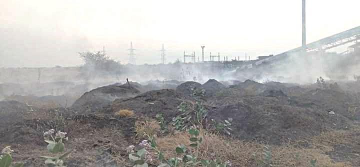 पाचपुतेंच्या साईकृपा साखर कारखान्यात आग