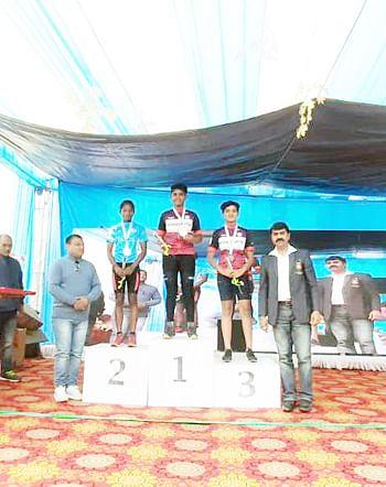 राष्ट्रीय सायकलिंग स्पर्धा : नाशिकच्या जतीनला रौप्य, ऋतू भामरेला २ कांस्य पदक
