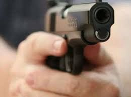 जामखेड शहरात भरदिवसा हवेत गोळीबार
