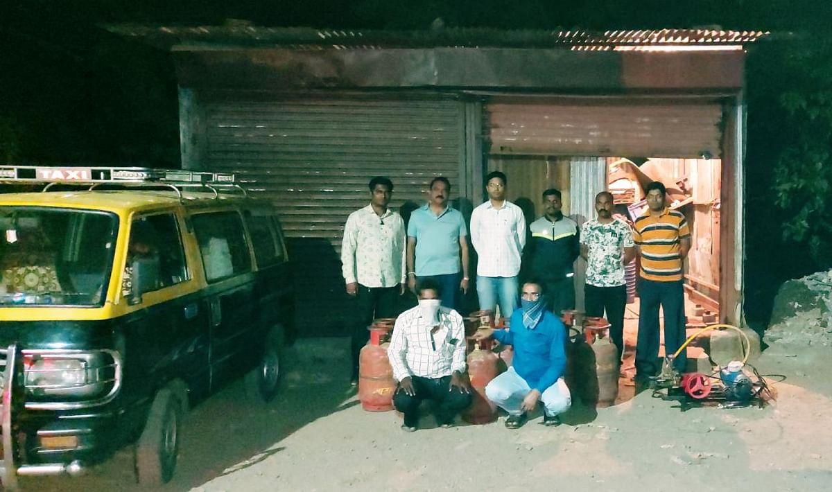 इगतपुरी : घरगुती गॅसचा काळाबाजार करणाऱ्यांवर विशेष पथकाची कारवाई