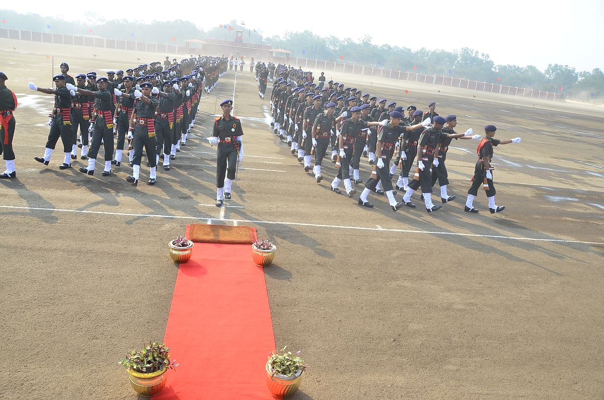 Video : 333 Recruits turn Gunners at passing out parade