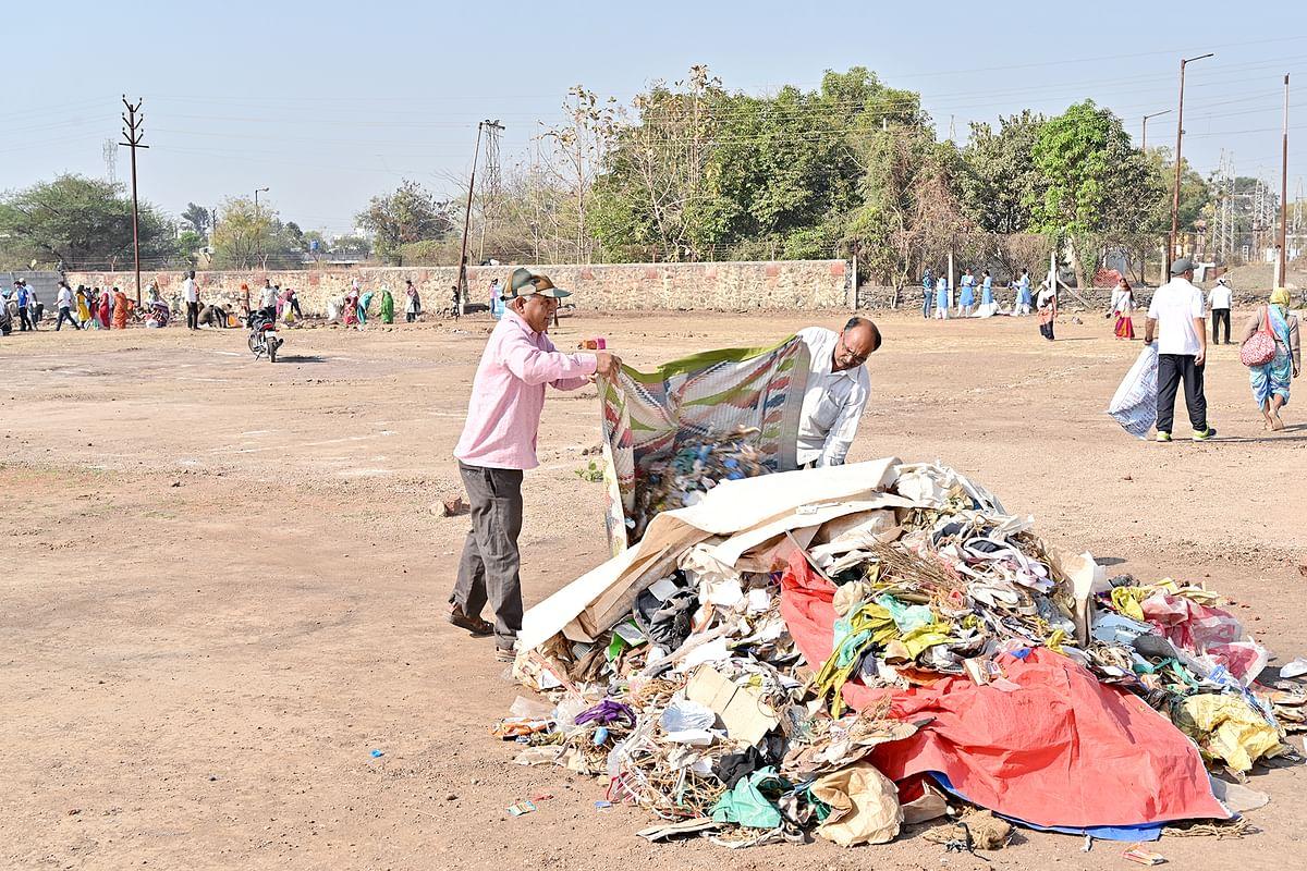 संत निरंकारी चॅरिटेबलकडून देशभरात स्वच्छता अभियान; नाशकात ५ टन कचरा जमा