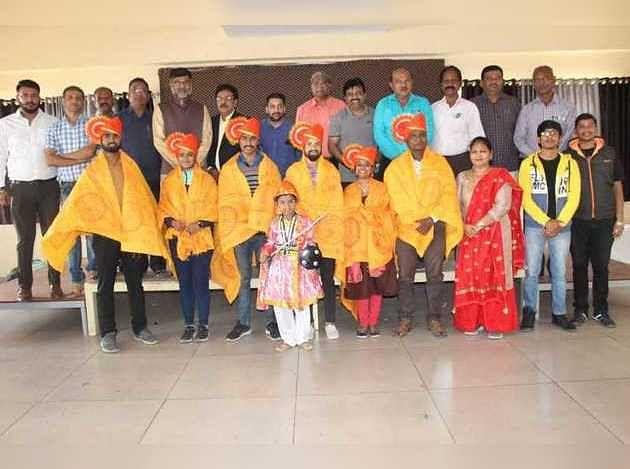 शिव छत्रपती पुरस्कार प्राप्त खेळाडूंचा सत्कार; कालिका मंदिर ट्रस्ट, क्रीडा साधनाचा उपक्रम
