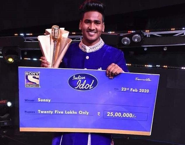 बूट पॉलिश करणारा सनी हिंदुस्थानी ठरला इंडियन आयडॉल ११ चा विजेता