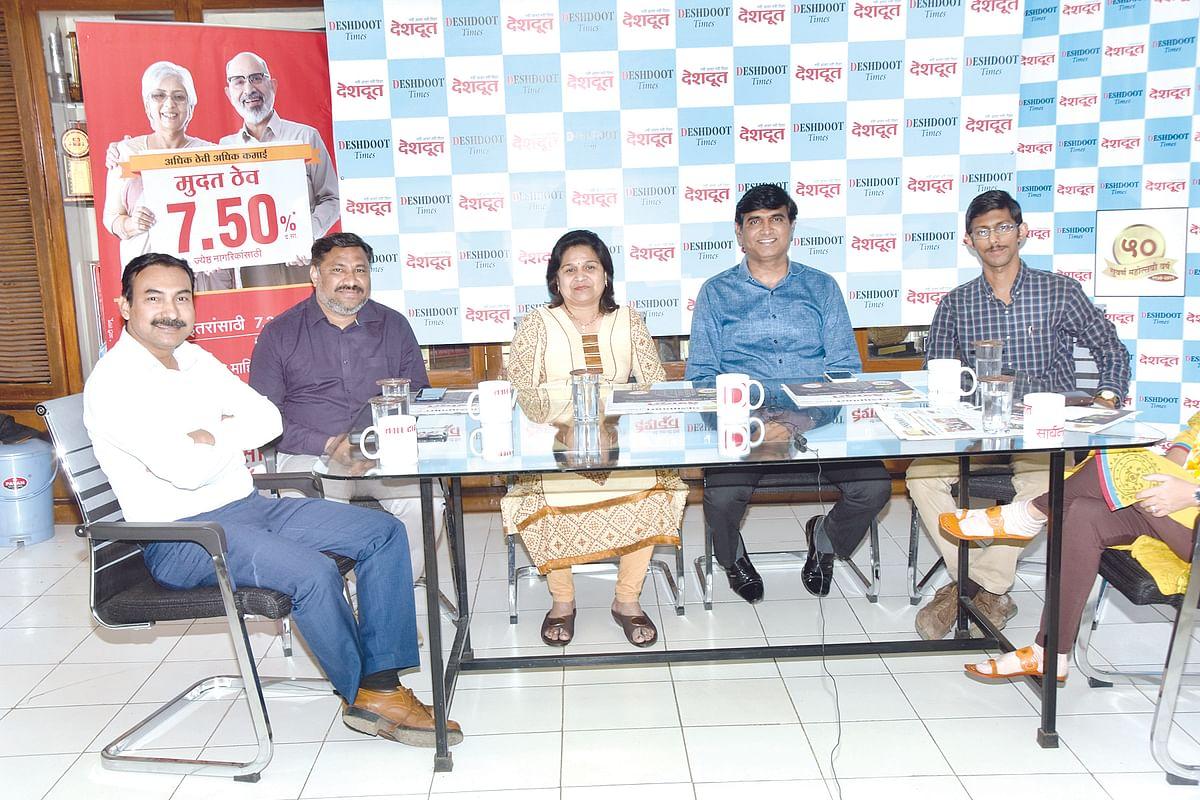 Deshdoot Samvad Katta : Nothing to fear Carona virus but care advised