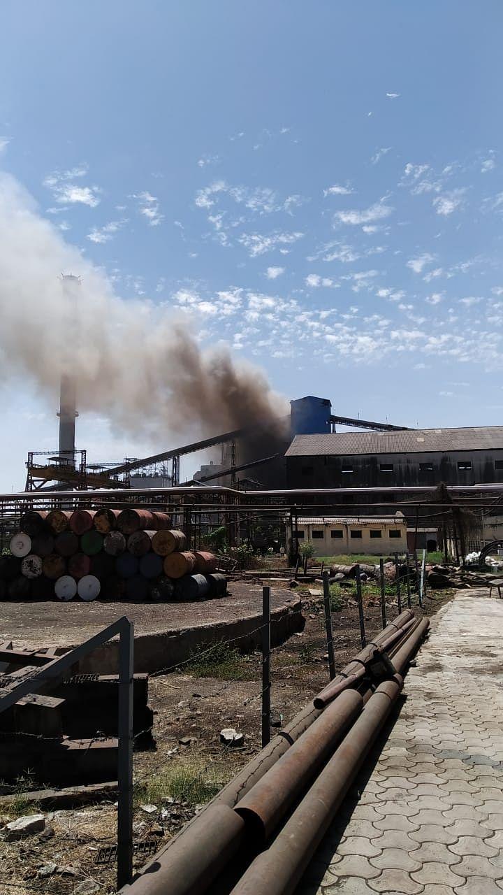 प्रवरानगर – कारखान्याच्या विज प्रकल्पाला लागली आग