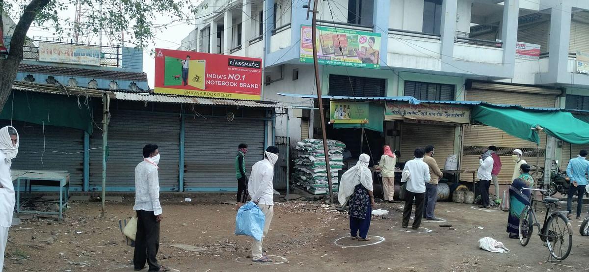 कोरोना : मुक्ताईनगर शहरात तिघांविरुद्ध गुन्हा दाखल