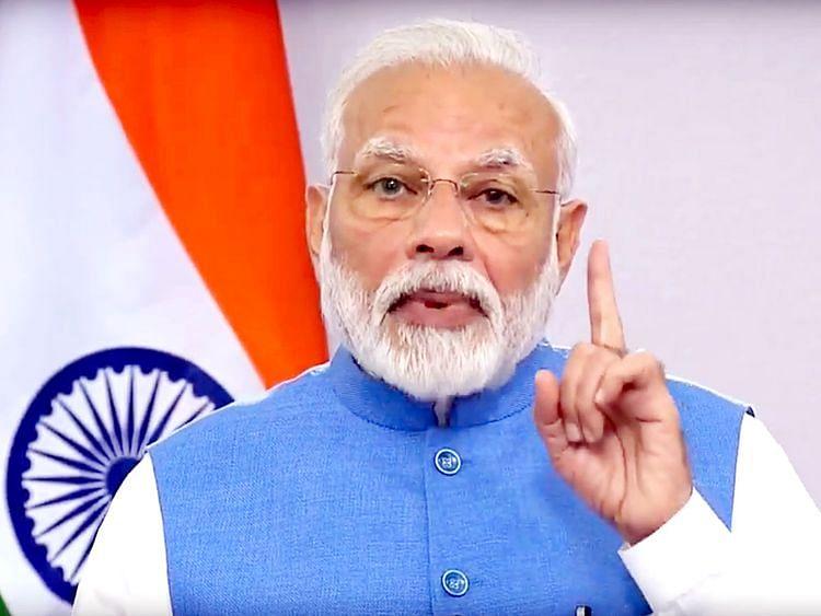 Video : नऊ मिनिटे घरात दिवे लावा; सोशल डीस्टन्सी राखण्याचा 'हाच' रामबाण उपाय : पंतप्रधान मोदी