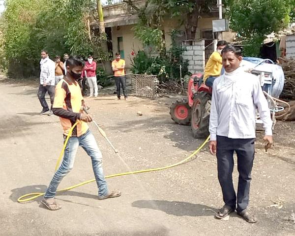videos : कोरोना : तरसोद ग्रा.पं. तर्फे  निर्जंतुकीकरण फवारणी