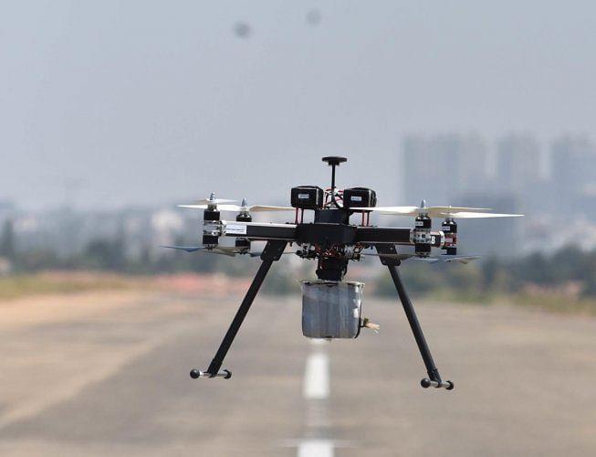 नाशिक शहर पोलीस करणार ड्रोनद्वारे पेट्रोलिंग