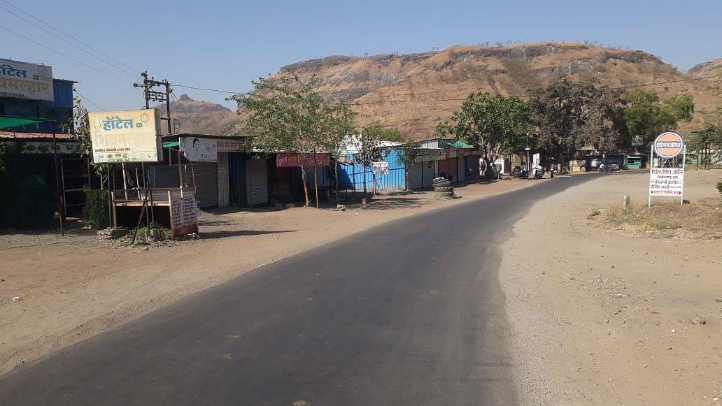 वीरगाव परिसरात जनता कर्फ्यूने शांतता