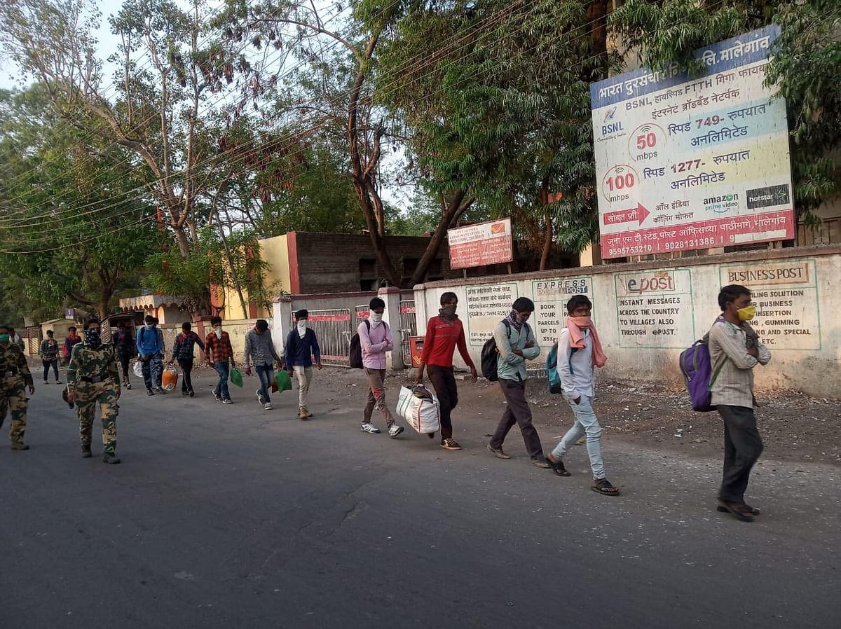 राजस्थानला जाणारे ४७ प्रवासी मालेगावमध्ये पकडले; प्रत्येकाची होणार तपासणी