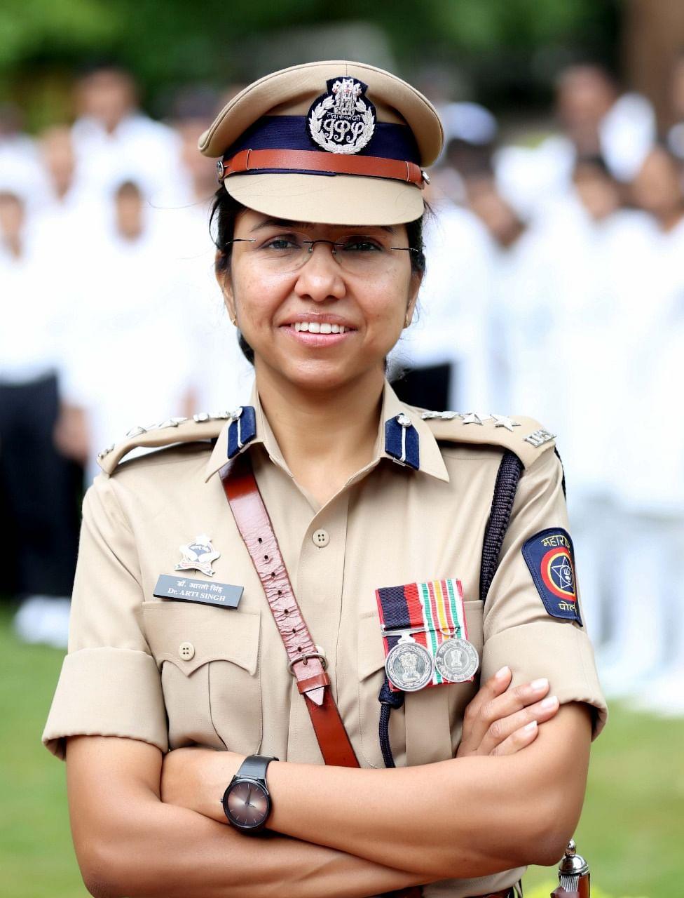 कोविड-१९ लढा देण्यास पोलिस विभाग सज्ज : पोलिस अधीक्षक डॉ. आरती सिंग