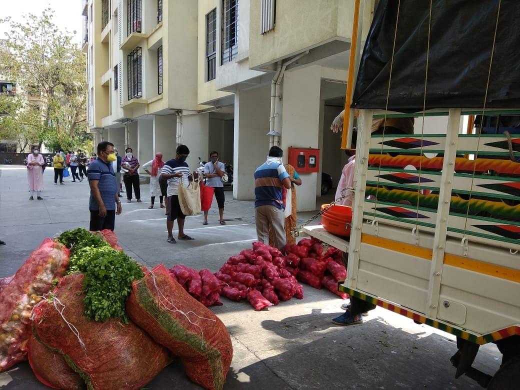 'आत्मा' अंतर्गत स्थापन शेतकरी गटांकडून मुंबईकरांना १५० टन ताजा भाजीपाला व फळांची विक्री