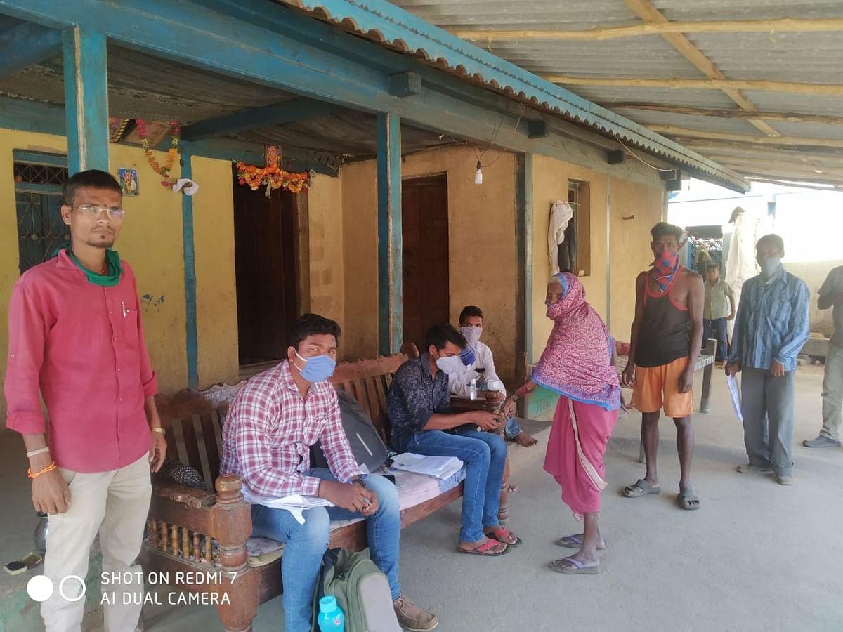 सुरगाणा तालुक्यातील ग्रामीण भागात बँक आपल्या दारी