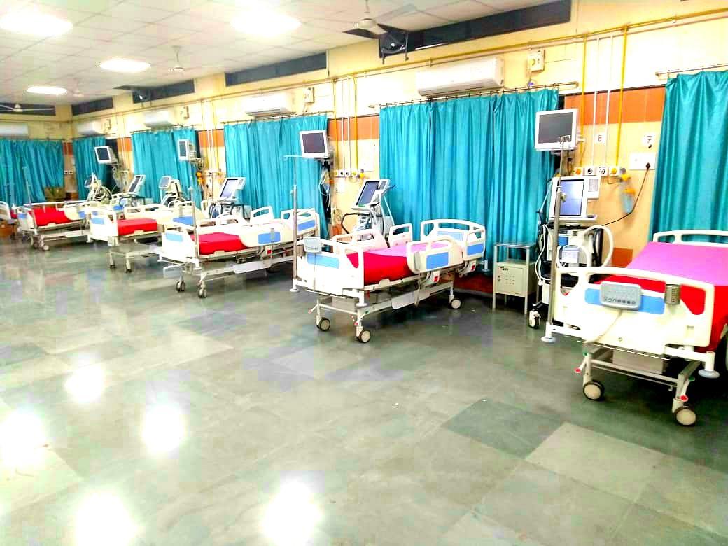 नागपुरात मध्य भारतातील पहिले कोविड हॉस्पिटल रुग्णांसाठी सज्ज