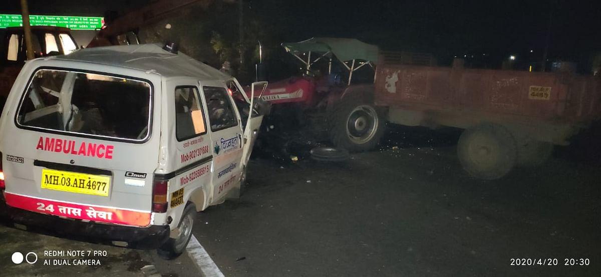 पिंपळगाव बसवंतजवळ भीषण अपघात; पाचोरा येथील दोन बहिणी आणि भावाचा दुर्दैवी मृत्यू