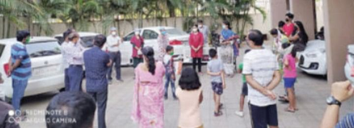 Fight against COVID-19 : NMC undertakes screening exercise in slums, parts of city