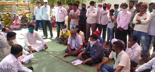श्रीरामपूर : दत्तनगर येथील जळीत तरुणाचा 28 तासानंतर अंत्यविधी