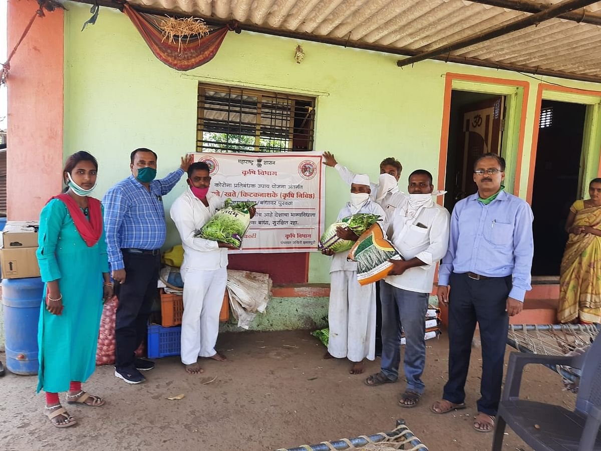 इगतपुरी : खरीप हंगामासाठी शेतकऱ्यांना बियाणे, खते शेताच्या बांधापर्यंत पोहचवणार
